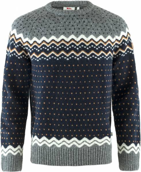 Fjällräven Övik Knit Sweater Pullover Herren dark navy