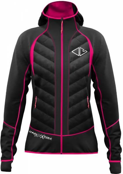 Crazy Idea Alpinstar 3D Jacket Women black/berry