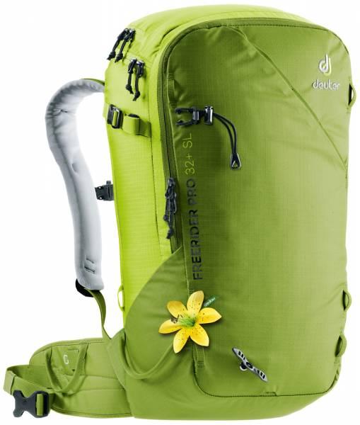 Deuter Freerider Pro 32+ SL Damen Skitourenrucksack moss-citrus