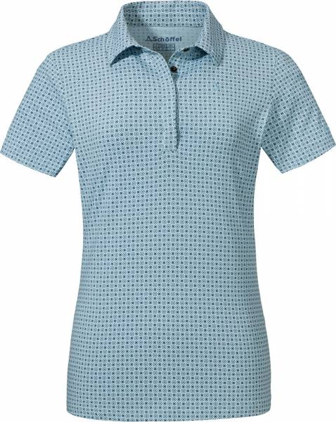Schöffel Polo Shirt Altenberg1 Women cerulean