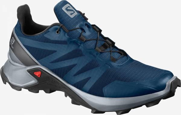Salomon Supercross Trailrunning poseidon/pearl blue/bk