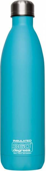 360 Degrees Soda Vacuum Insulated 750ml Isolierflasche pas blu