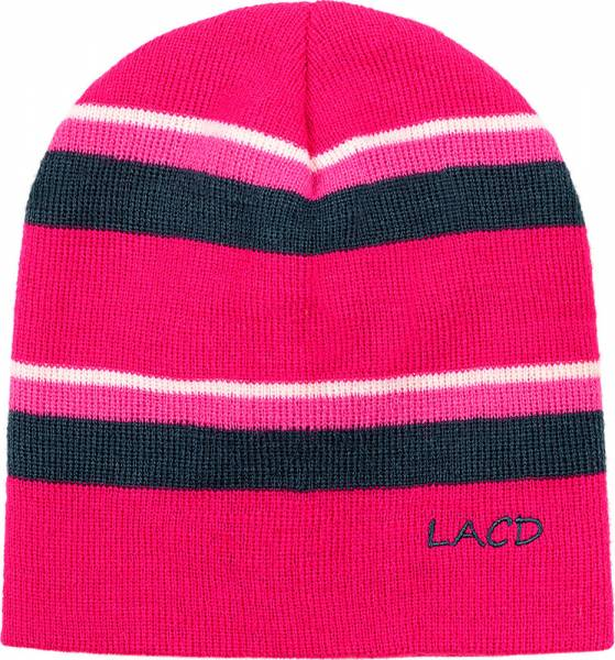 LACD Stripes Beanie Mütze berry