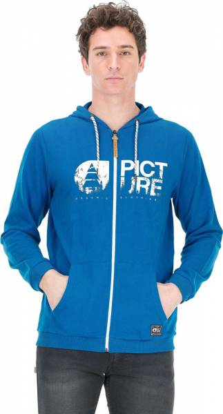 Picture Basement Zip Hoodie Men blue