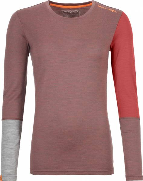 Ortovox 185 Rock´n´Wool Long Sleeve Women Shirt blush blend