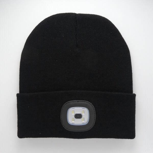 Artitec Headlight Mütze mit integrierter Stirnlampe schwarz