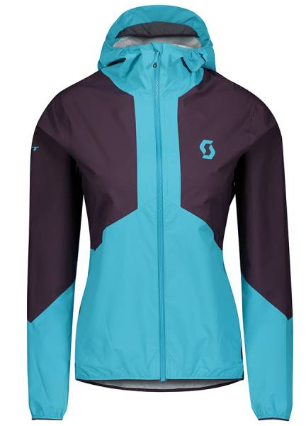 Scott Explorair Light Dryo 2.5L Jacket Damen Outdoorjacke dark purple/breeze blue