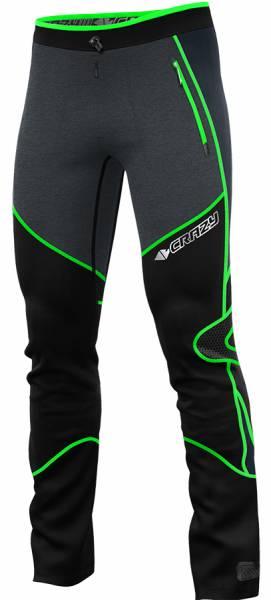 Crazy Idea Pant Cervino Ultra Herren Skitourenhose green fluo