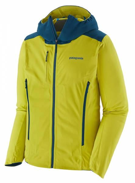 Patagonia Upstride Jacket Herren Skitourenjacke chartreuse