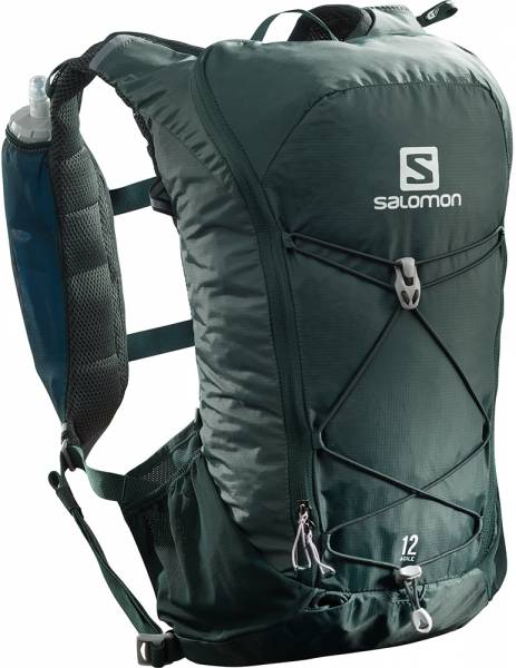 Salomon Agile 12 Set Trailrunningrucksack Green Gables
