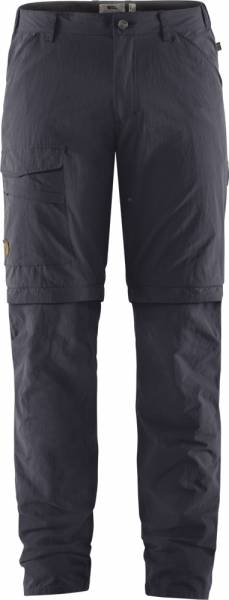 Fjällräven Travellers MT Zip Off Trousers Men Berghose dark navy