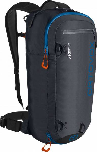Ortovox Ascent 22 Skitourenrucksack black anthracite