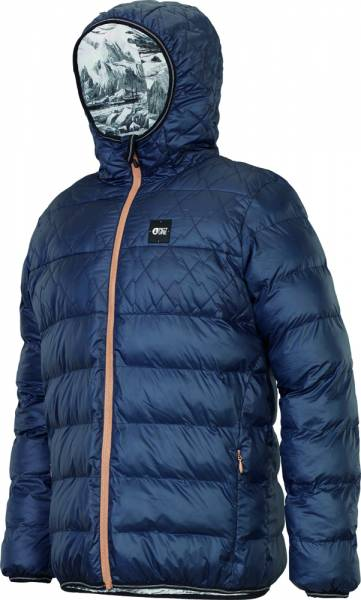 Picture Scape Jacket Men dark blue