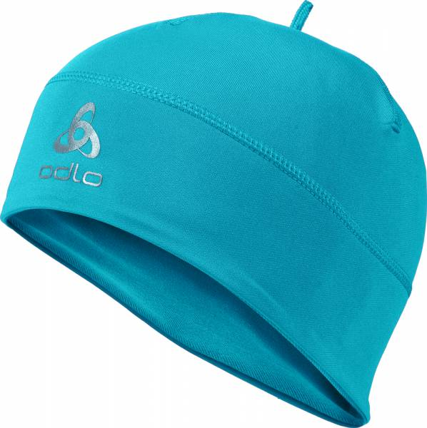 Odlo Hat Polyknit Warm Mütze blue jewel