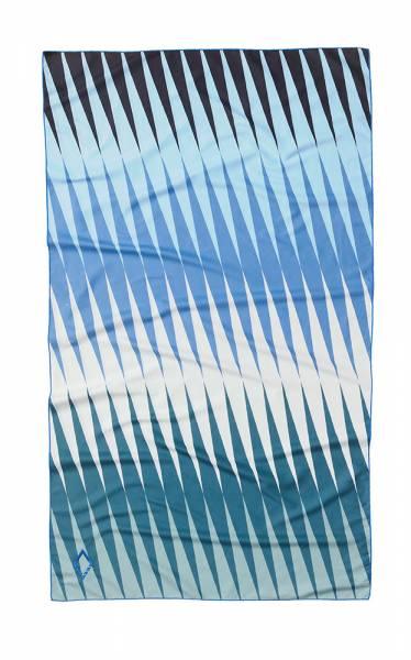 Nomadix Ultralight Towel Handtuch heatwave blue green