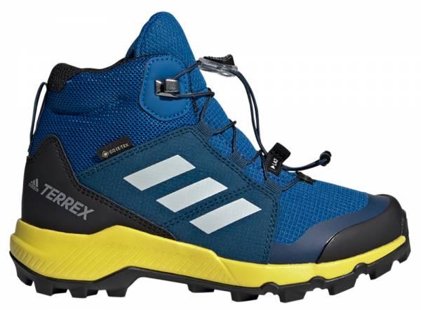 Adidas Terrex MID GTX Kids Blue Beauty / Grey One / Shock Yellow