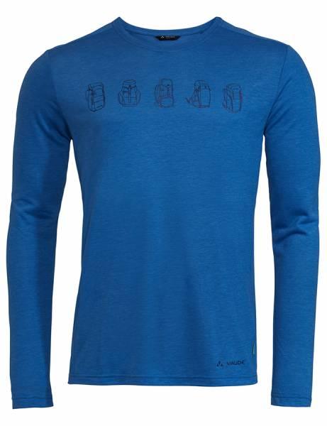 Vaude Rosemoor LS T-Shirt II Herren Langarmshirt signal blue