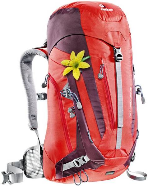 Deuter ACT Trail 28 SL Women fire-aubergine