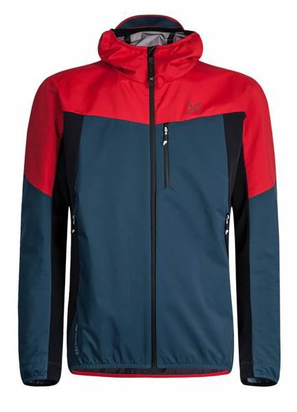Montura Air Active Hoody Jacket Men blu cenere/rosso