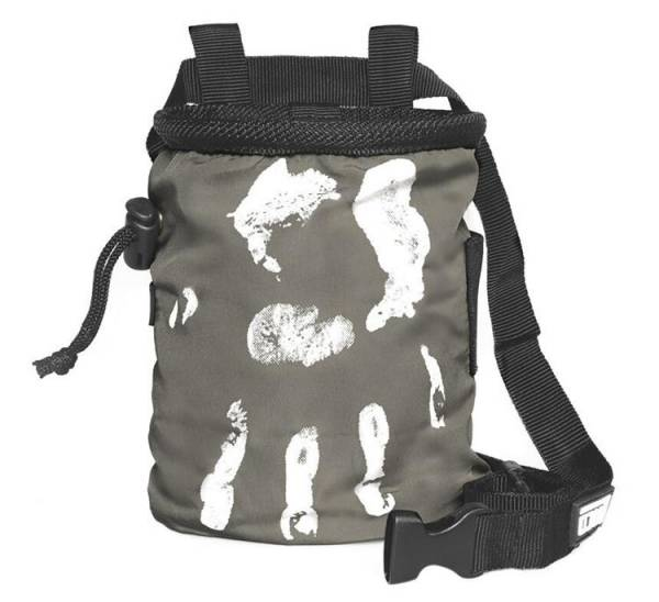 LACD Chalk Bag Hand of Fate charcoal