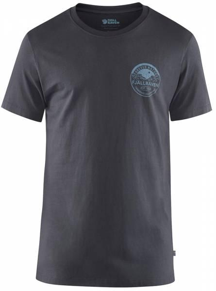 Fjällräven Forever Nature Badge T-Shirt Men Navy