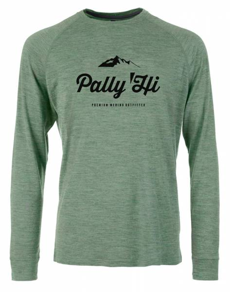 Pally´Hi Classic Peak Logo Longsleeve heather grey
