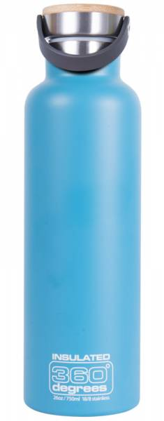 360 Degrees Vacuum Insulated 750ml Isolierflasche aqua