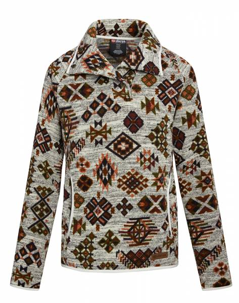 Sherpa Lumbini Pullover Damen Fleecepullover peetho