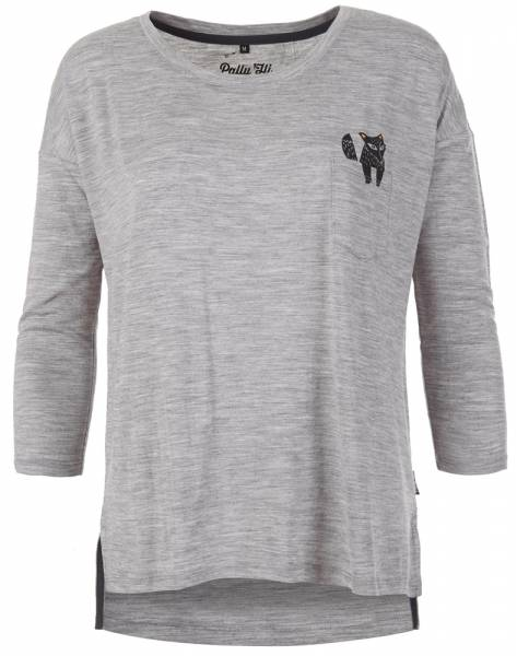 Pally´Hi Foxy Lady Longsleeve heather grey