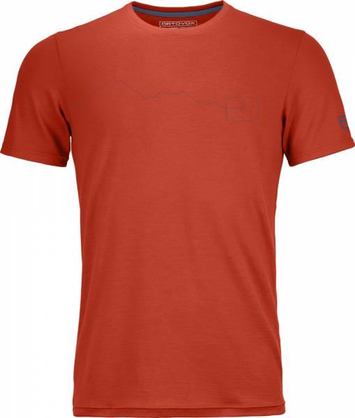 Ortovox 150 Cool Mountain T-Shirt Men crazy orange Funktionsshirt