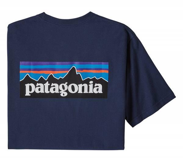 Patagonia M's P-6 Logo Responsibili-Tee® Herren T-Shirt classic navy