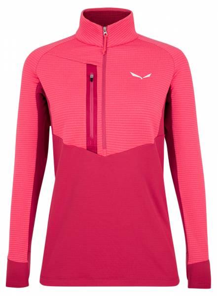Salewa Vajolet Responsive Half-Zip Jacket Damen Baselayer virtual pink