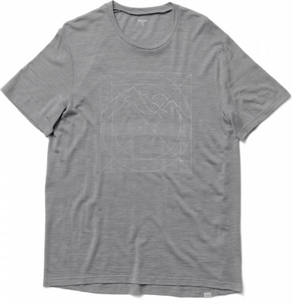 Houdini M´s Activist Message Tee Herren T-Shirt soft grey