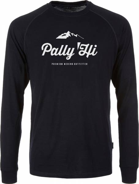Pally´Hi Classic Peak Logo Men Longsleeve bluek