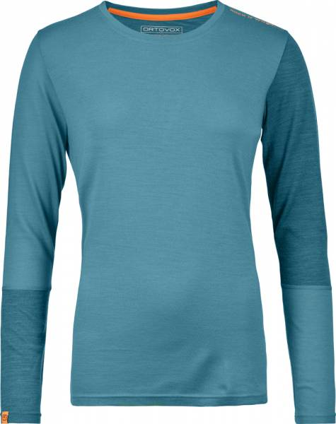 Ortovox 185 Rock´n´Wool Long Sleeve Women Shirt aqua