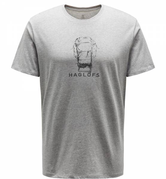 Haglöfs Camp Tee Men T-Shirt grey melange / slate