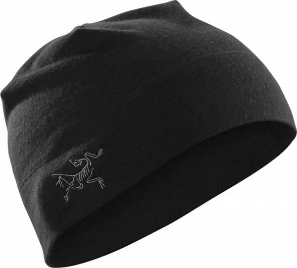 Arcteryx Rho LTW Beanie Mütze black