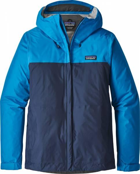 Patagonia Torrentshell Jacket Women Jacke lapiz blue w/navy blue