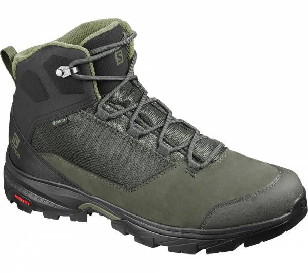 Salomon OUTward GTX Men Trekkingschuh Peat/Black/Burnt Olive
