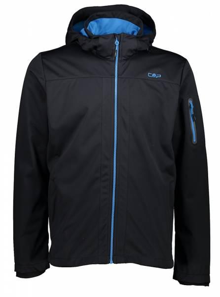 CMP Zip Hood Jacket Herren Softshelljacke antracite-regata (39A5027)