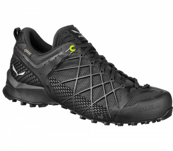 Salewa Wildfire GTX Men Zustiegsschuh Blackout/Silver