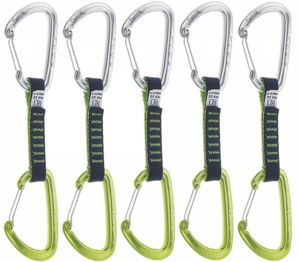 Camp Orbit Wire 5er Express Set 11 cm (grün/grau)