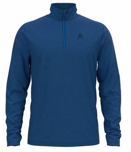 Odlo Roy 1/2 Zip Herren Midlayer estate blue-directoire blue-stripes