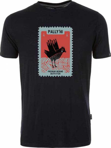 Pally´Hi Stamped Grouse Men T-Shirt bluek
