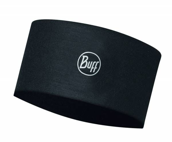 BUFF® CoolNet UV+® Headband Stirnband solid black