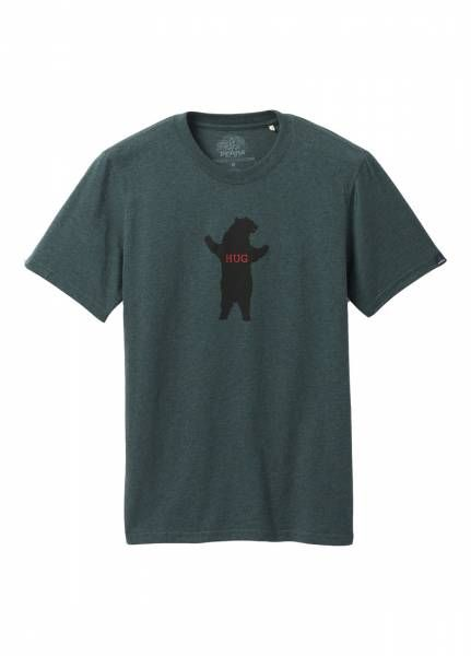 Prana Bear Squeeze Journeyman Herren T-Shirt batik heather