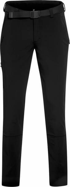 Maier Sports Naturno slim black Men Tourenhose Kurzgröße