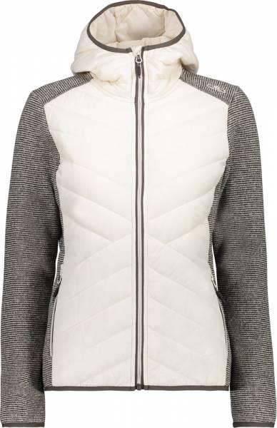 CMP Jacket FIx Hood Hybrid Woman Isolationsjacke Rock