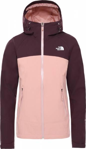 The North Face Stratos Jacket Damen Hardshelljacke pinkclay/Rootbn