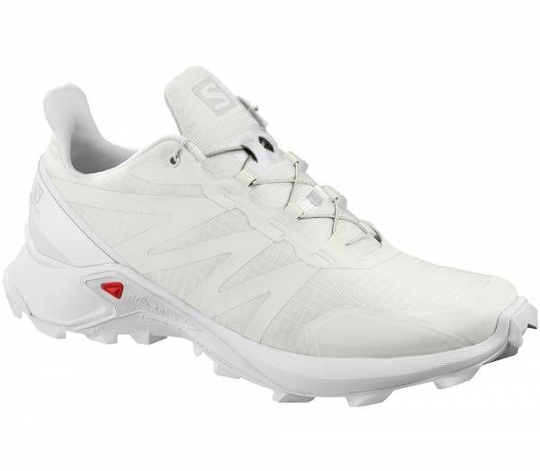 Salomon Supercross Women Trailrunningschuh white / white / white